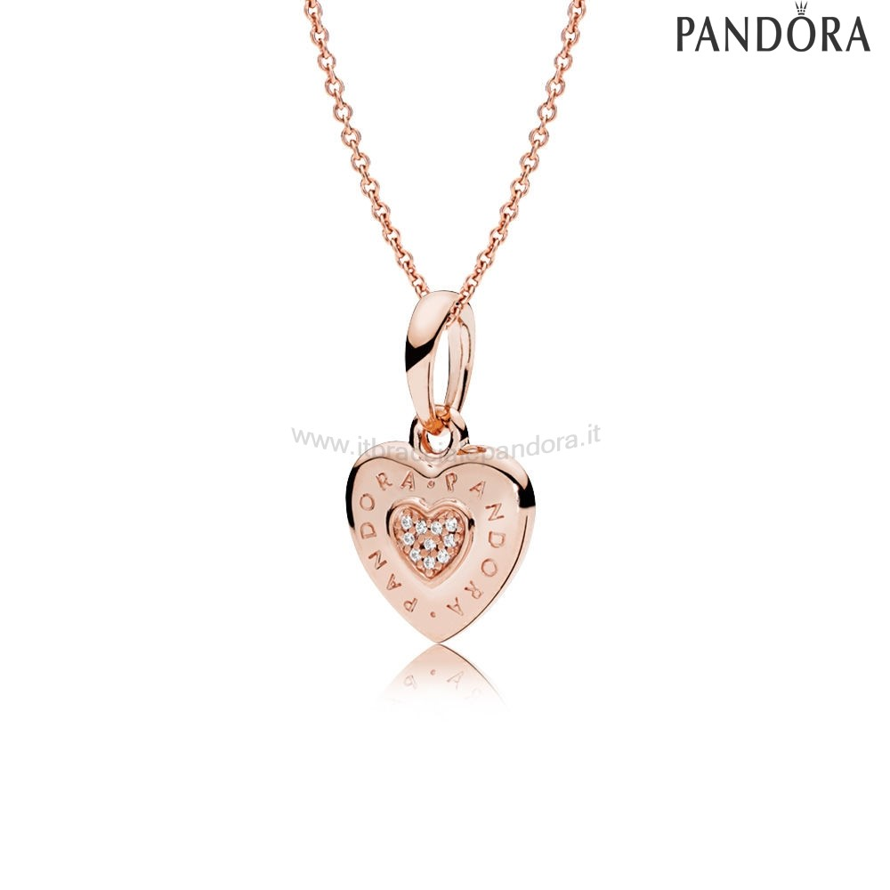Outlet Pandora Pandora Rose Logo Cuore Collane