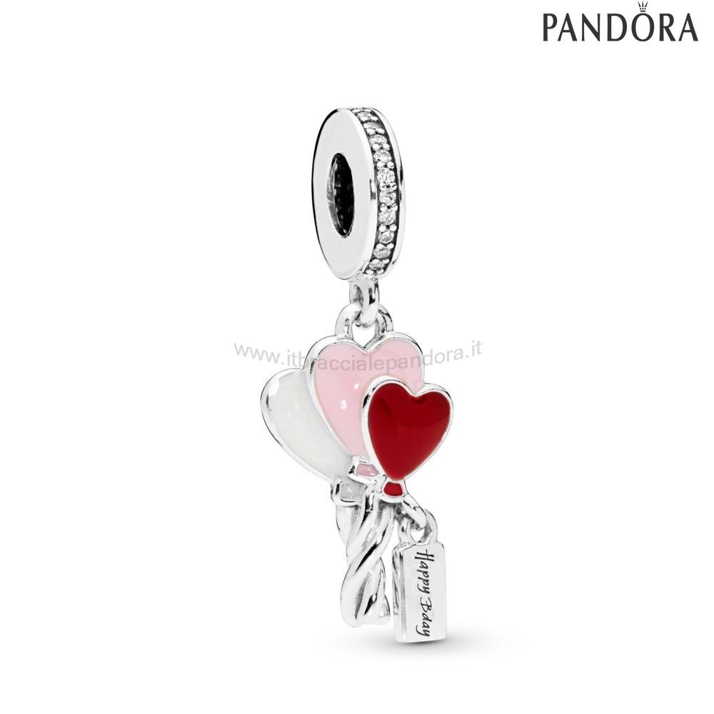 Outlet Pandora Cuore Balloons Penzolare Charm