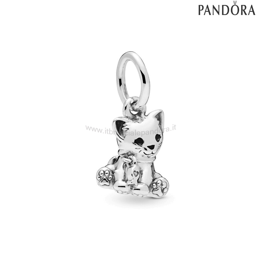 Outlet Pandora Gatto Dolce Penzolare Charm
