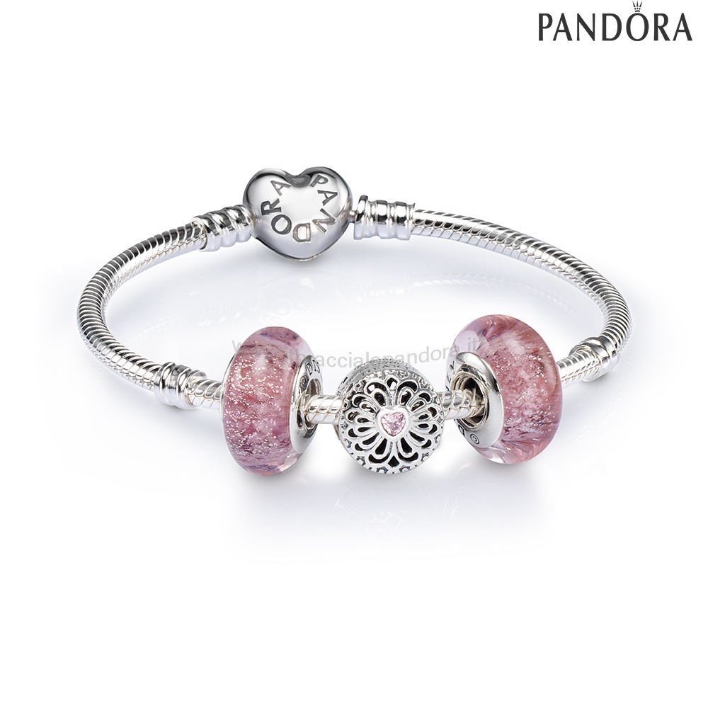 Outlet Pandora Amore And Friendship Openwork Charm Bracelet