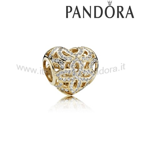 Outlet Pandora Amore Appreciation Charm Chiaro 14K Oro