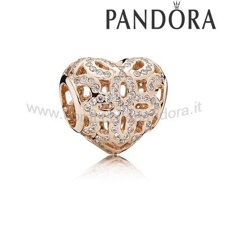 Outlet Pandora Amore Appreciation Charm Rose Chiaro