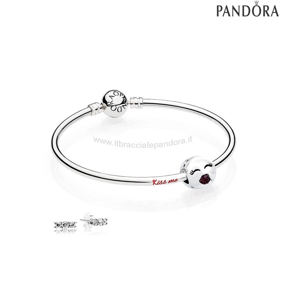Outlet Pandora Bacio Me Bangle Regalo