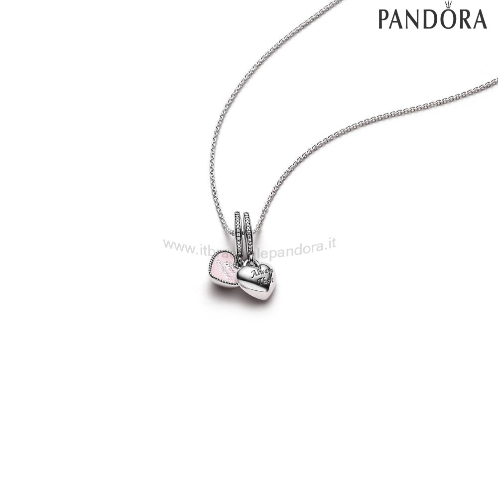 Outlet Pandora Best Friends Pendant And Necklace