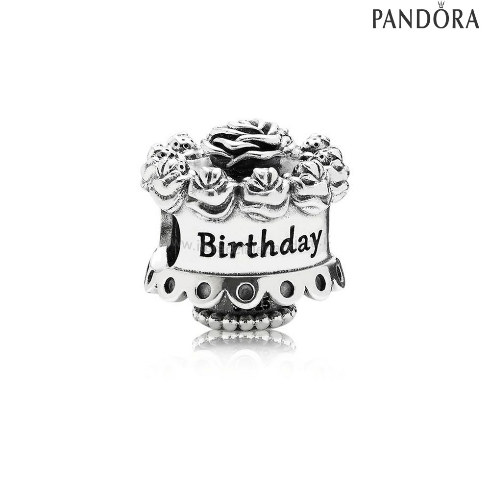 Outlet Pandora Contento Compleanno Charm