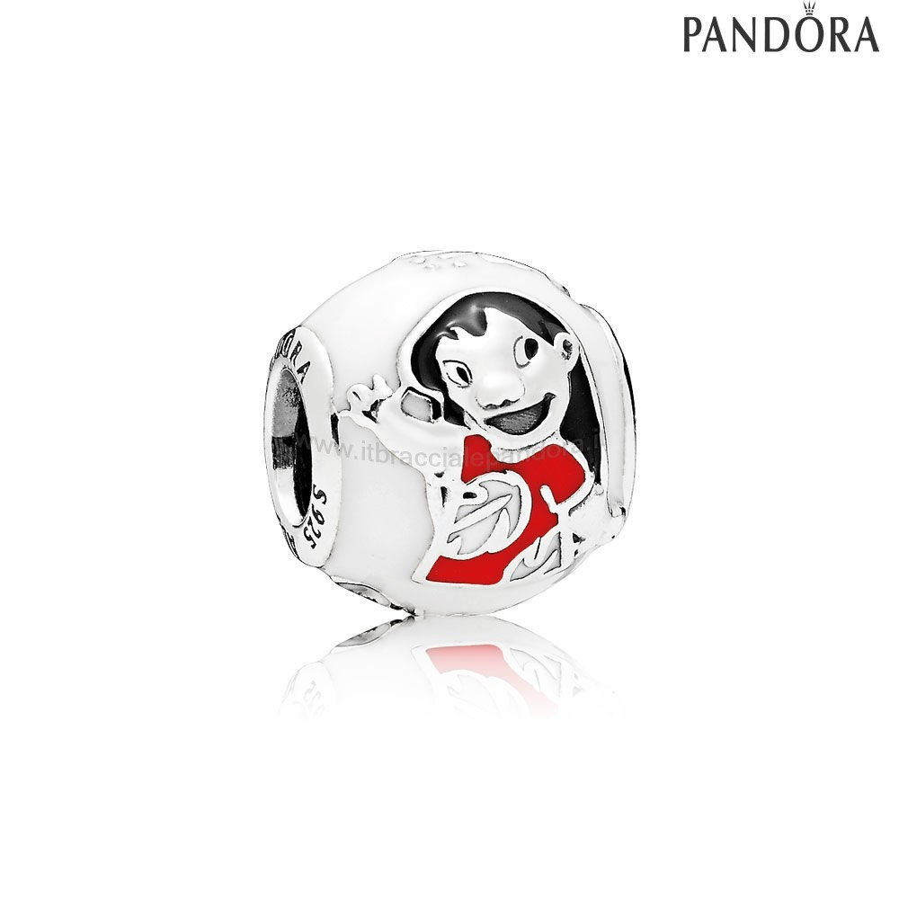 Outlet Pandora Disney Charms Lilo Stitch Misto Smalto