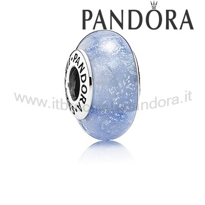 Outlet Pandora Disney Charms Sney Cinderella'S Colore Firma Murano Bicchiere