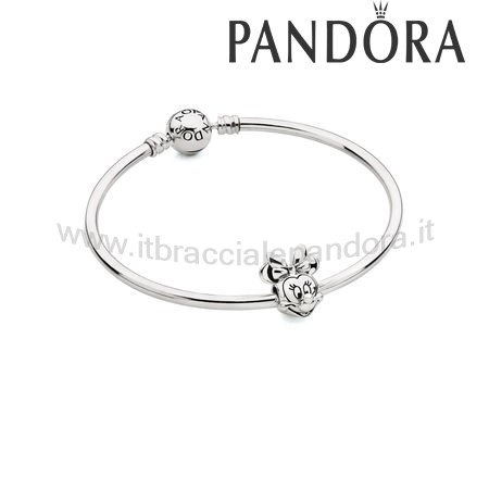 Outlet Pandora Disney Collezione Minnie Mouse Impostato Regalo