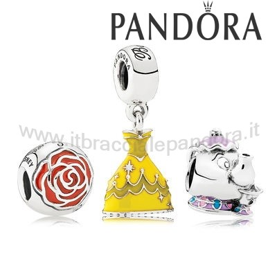 Outlet Pandora Disney Impostato Regalo Bellezza E Bestia