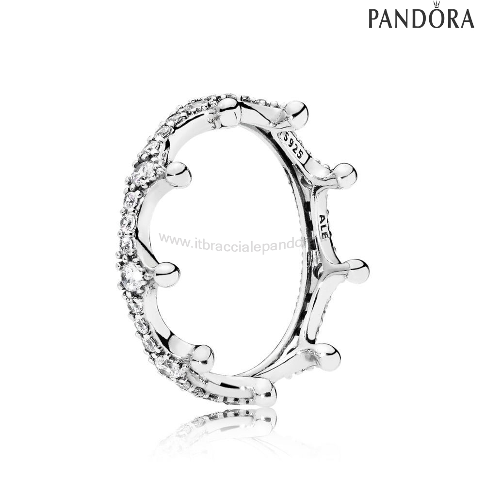 Outlet Pandora Enchanted Crown Anelli