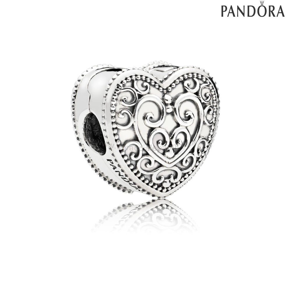 Outlet Pandora Enchanted Cuore Clip Fascino