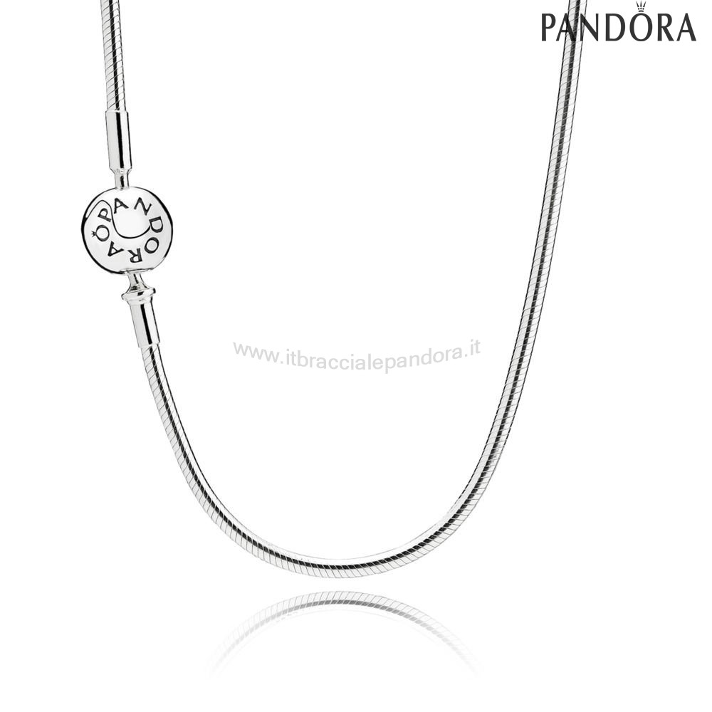 Outlet Pandora Essence Collection Silver Necklace