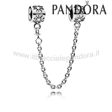 Outlet Pandora Margherita Sicurezza Catena