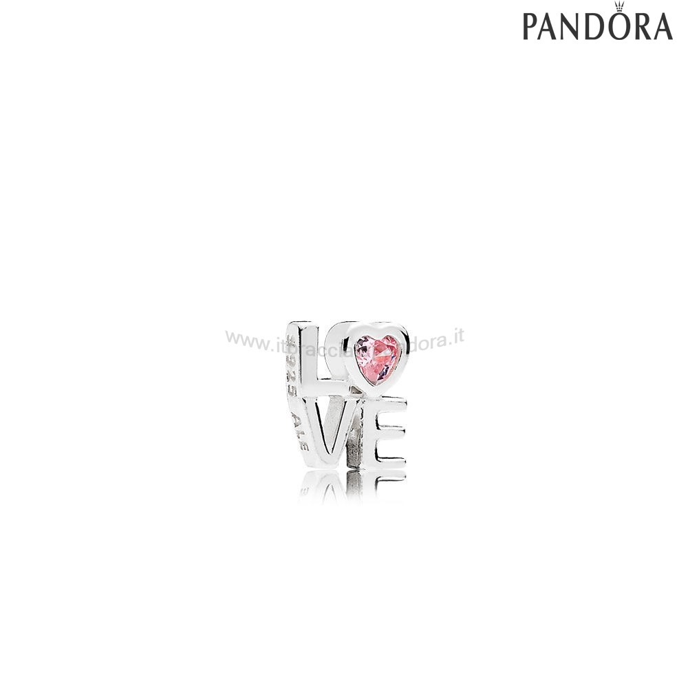 Outlet Pandora San Valentino Charms Amore Rosso Petite Charm