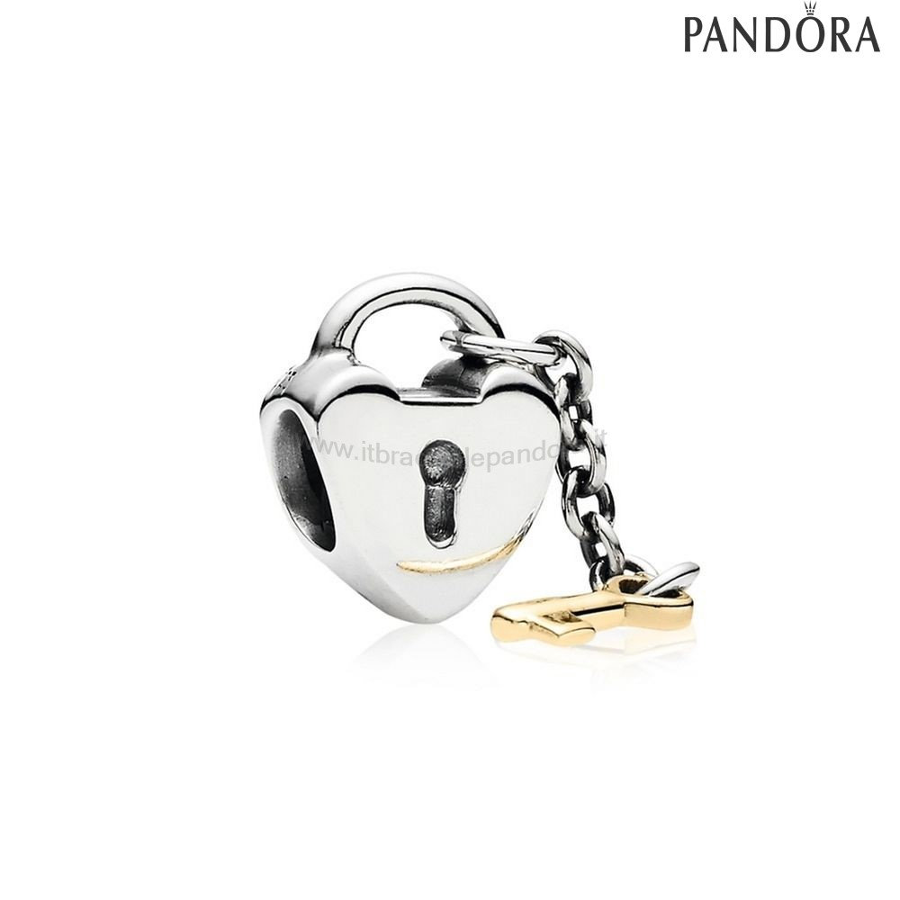 Outlet Pandora San Valentino Charms Chiave Al Mio Cuore Charm 14K