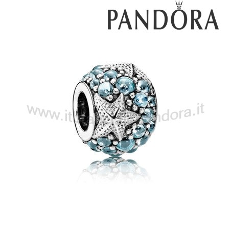 Outlet Pandora Stella Marina Oceanica Charm Frosty Mint
