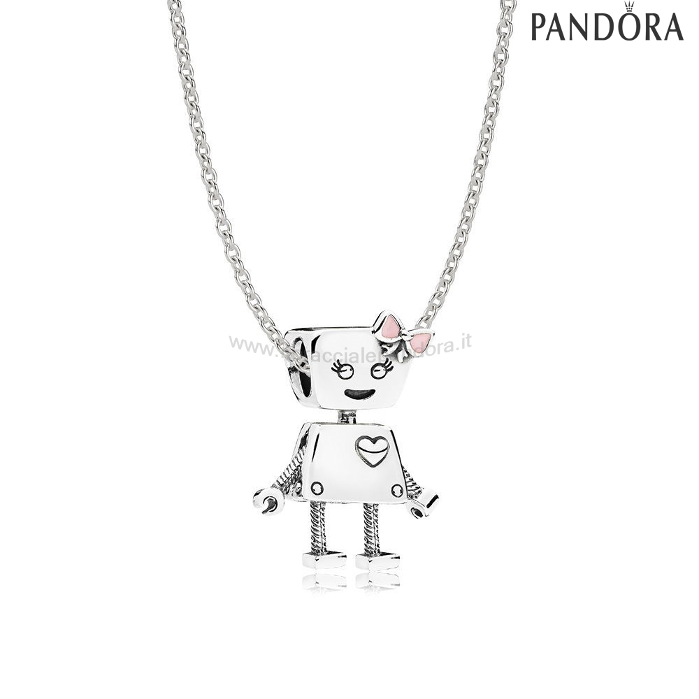 Outlet Pandora Sterlina Argento Bella Bot Collane Impostato