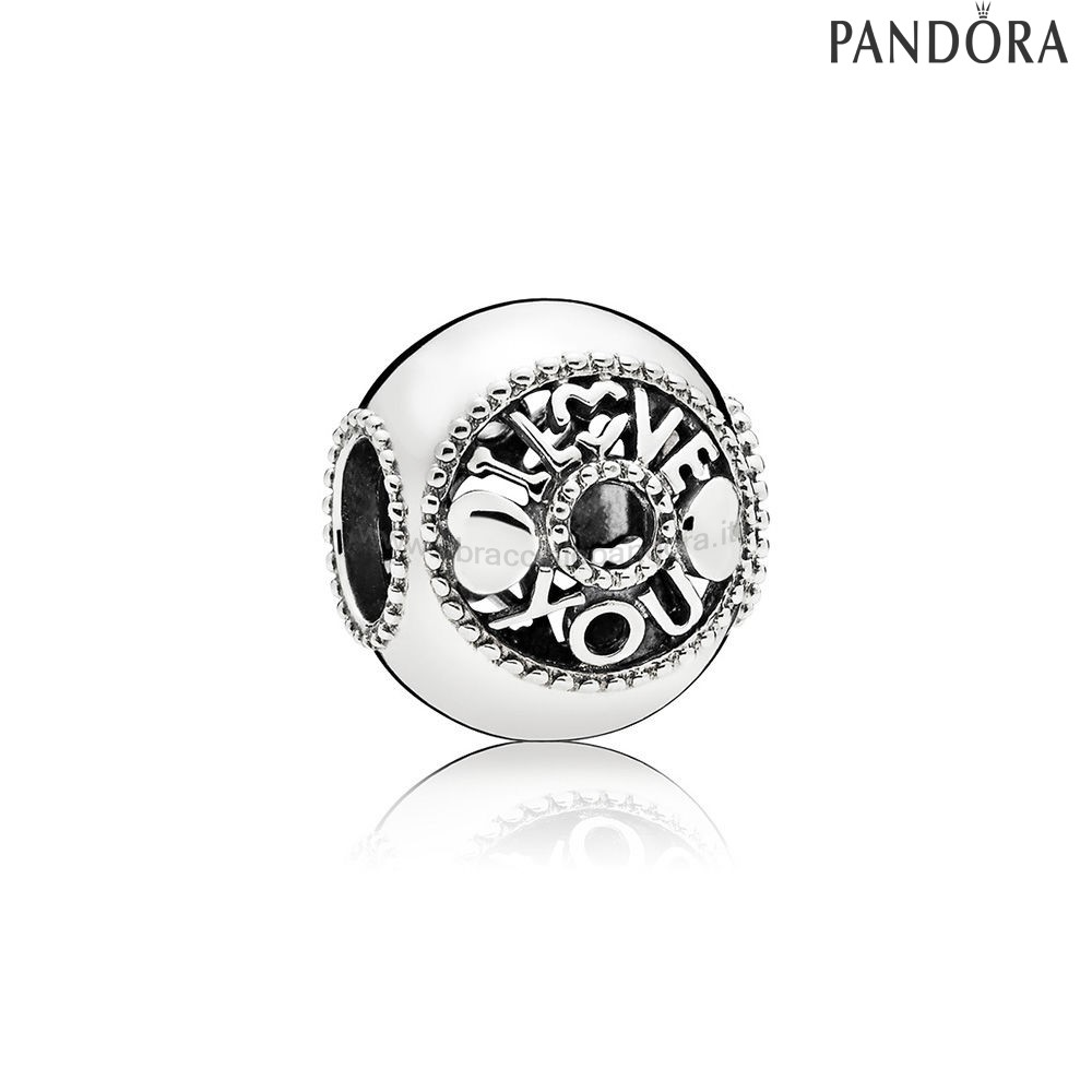 Outlet Pandora Talk About Amore Charm