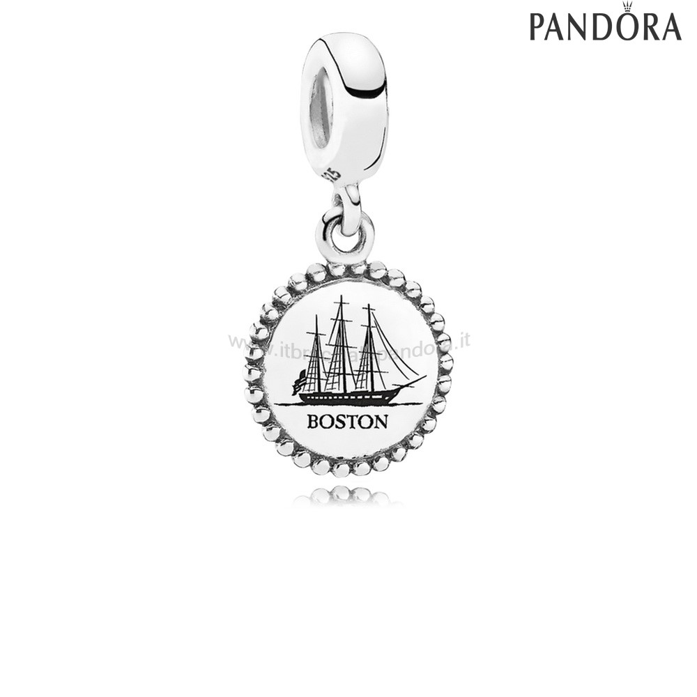 Outlet Pandora Vacanza Viaggio Charms Boston