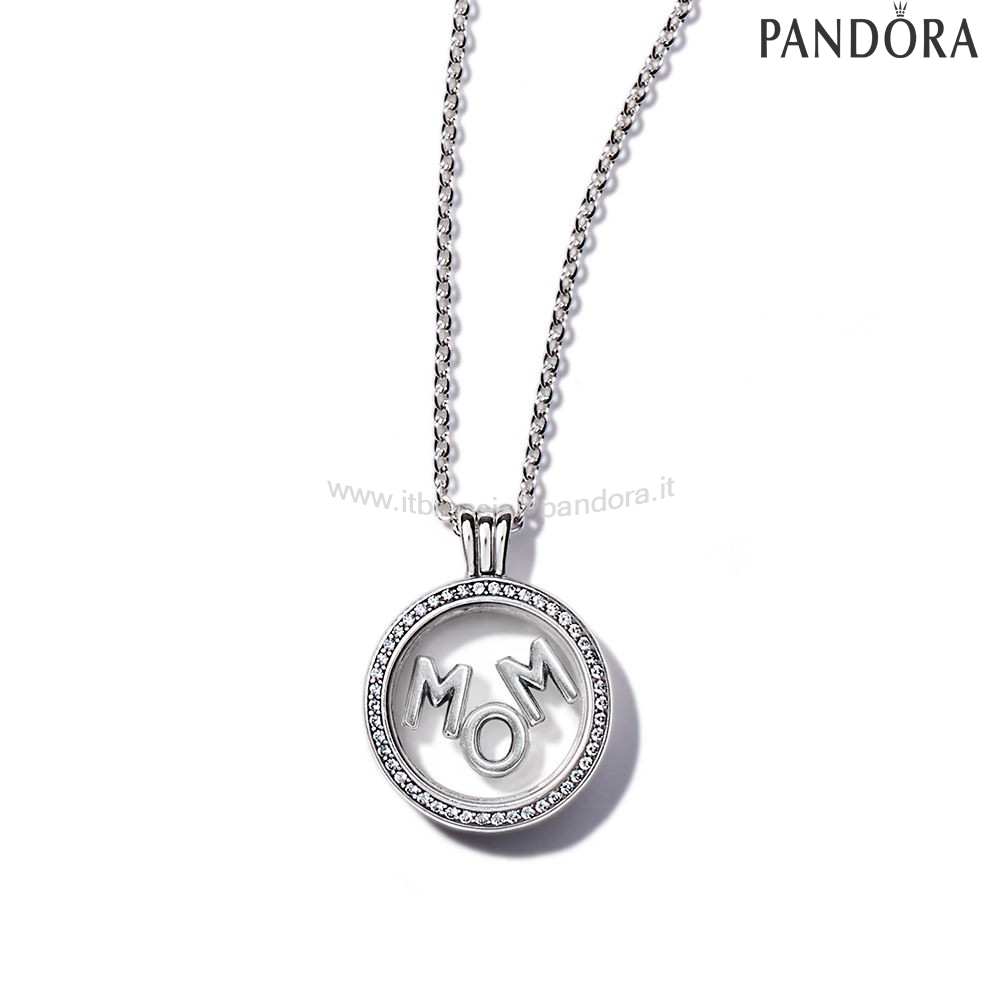 Outlet Pandora Scintillante Mamma Floating Locket Regaloimpostato